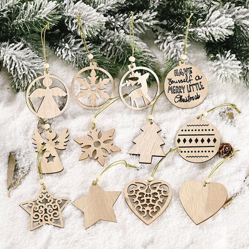 Creative New Hollow Wooden Pendant NHHB282668