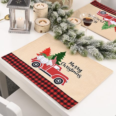 Forest Elderly Car Placemat Linen Creative Table Mat  NHHB282683's discount tags