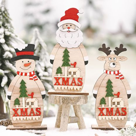 Festive Supplies Christmas  Wooden Ornaments  NHHB282691's discount tags