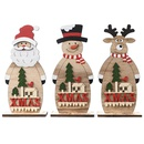 Festive Supplies Christmas  Wooden Ornaments  NHHB282691