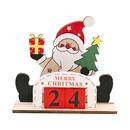 Festival Supplies Wooden DIY Calendar  NHHB282692