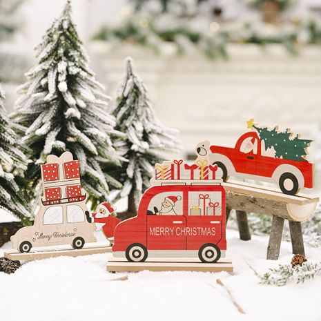 Christmas Wooden Car Decorations  NHHB282694's discount tags