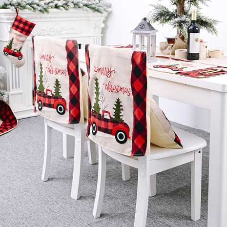 Christmas tree  stool cover creative home decoration chair cover NHHB282698's discount tags