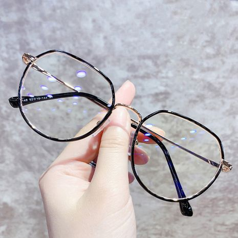 metal round glasses frame NHKD282243's discount tags