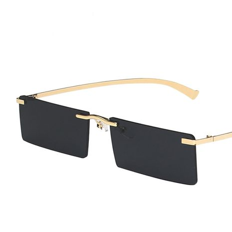frameless square metal sunglasses  NHKD282246's discount tags