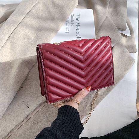 new korean  wild crossbody new casual diamond small square bag NHRU282722's discount tags