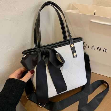 new fashion trendy one-shoulder tote bag  NHRU282739's discount tags