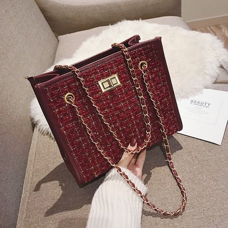 new trendy all-match  fashion chain shoulder portable  bag NHJZ282886's discount tags