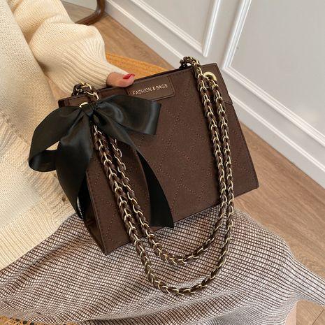 fashion new  bow decoration shoulder bag  NHJZ282893's discount tags