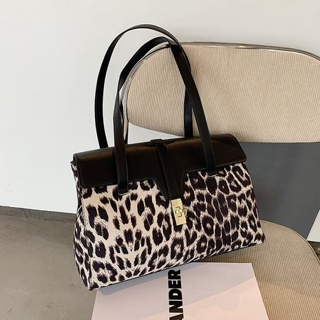 Zebra Print Kelly Bag Large Capacity  Underarm Bag  NHJZ282910's discount tags