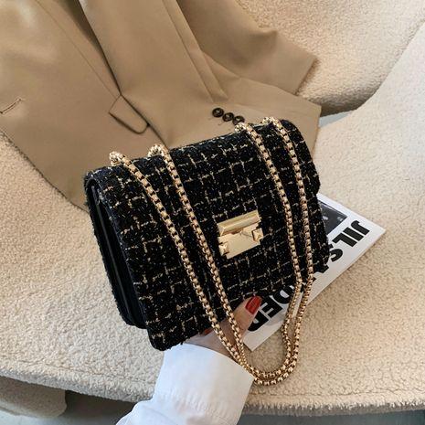 new korean fashion small fragrance style rhombus chain bag  NHJZ282916's discount tags