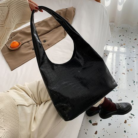 new korean casual retro wild fashion soft leather shoulder bag NHJZ282918's discount tags