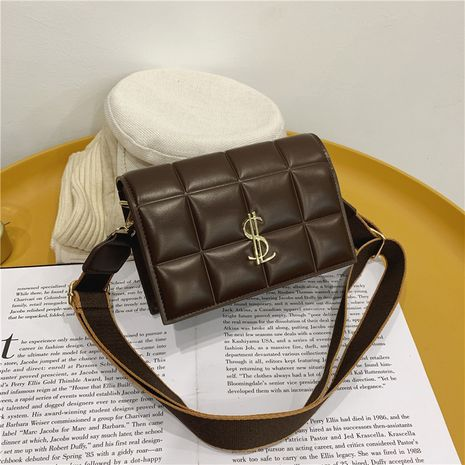 new all-match chocolate pattern bag NHJZ282924's discount tags
