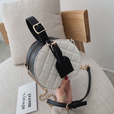 Korean fashion round bag NHJZ282932's discount tags