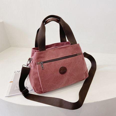all-match canvas  new   casual messenger bag  NHRU283010's discount tags