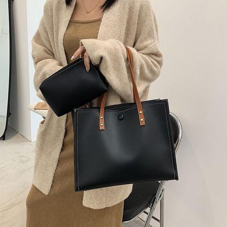 neue trendige einfache Tasche mit großer Kapazität NHGA283049's discount tags