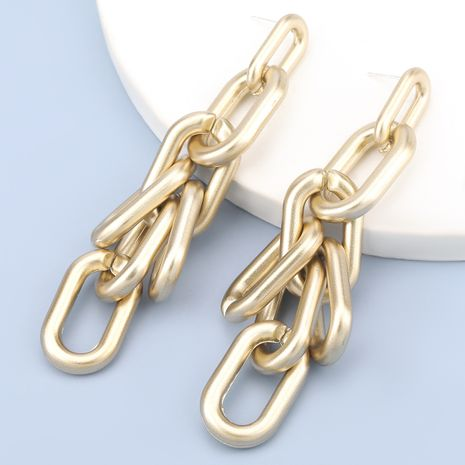 geometric creative exaggerated long earrings  NHJE283106's discount tags
