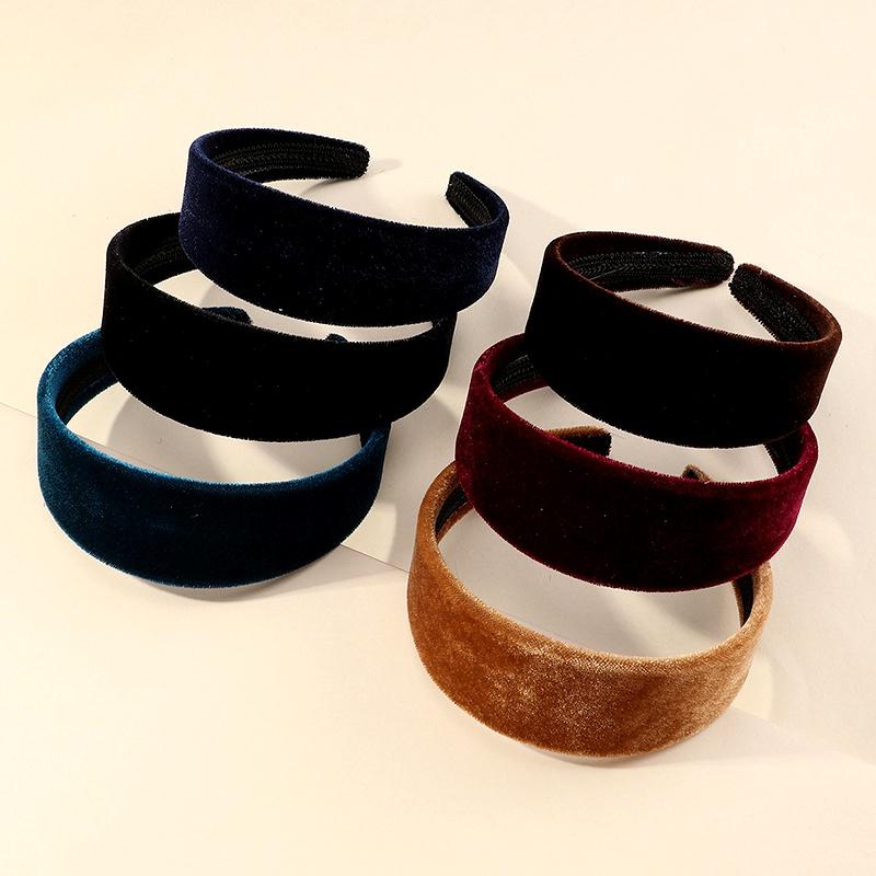 children's sponge suede cloth headband  NHNU283126