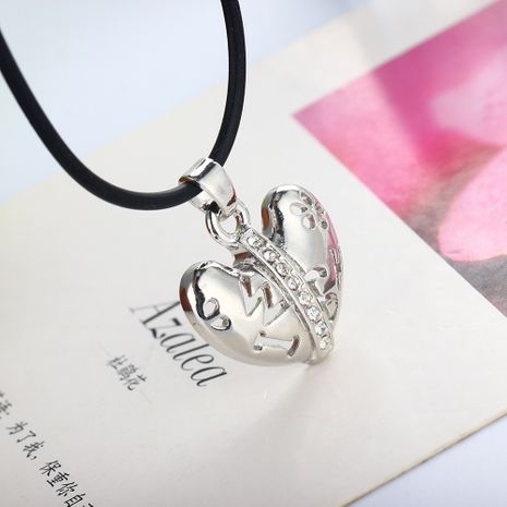 fashion  trendy heart-shaped letter necklace  NHAN283143's discount tags