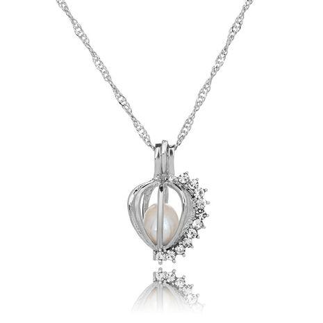 nouveau collier citrouille en diamant sauvage créatif simple NHAN283145's discount tags