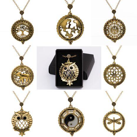 collier rétro à motifs multiples NHAN283156's discount tags
