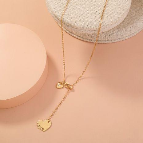 Collier simple New Love Corée NHAN283160's discount tags