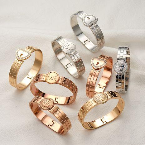 vente chaude nouveau bracelet d'amour d'ancre en acier inoxydable NHOA283176's discount tags