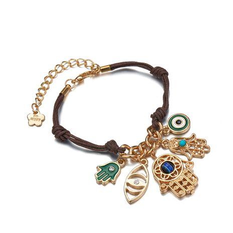 simple palm demon eye bracelet NHOA283181's discount tags