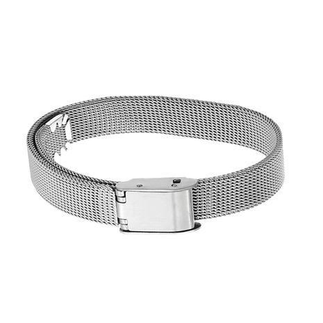 vente chaude véritable plaqué or bracelet en acier inoxydable anti-allergique NHOA283186's discount tags