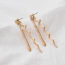 curve long alloy earrings NHOA283198