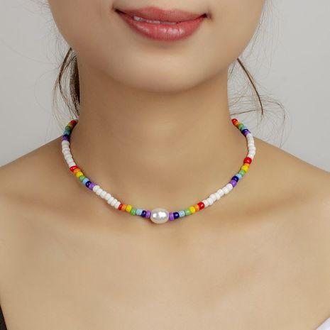 collier de perles rétro NHRN283209's discount tags