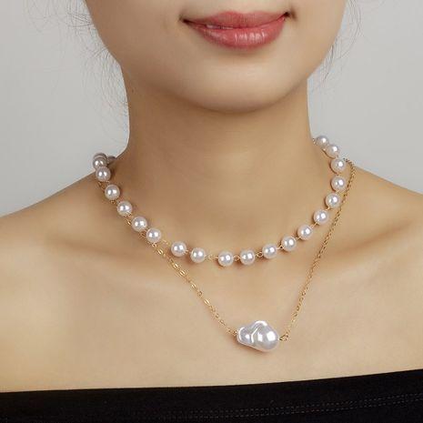 collier de perles rétro NHRN283213's discount tags