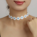 new  lace  flower necklace NHRN283208