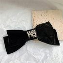 Black bowknot  hairpin  NHYQ283216