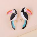 Fashion Cute Birds Diamond Earrings  NHJJ283267