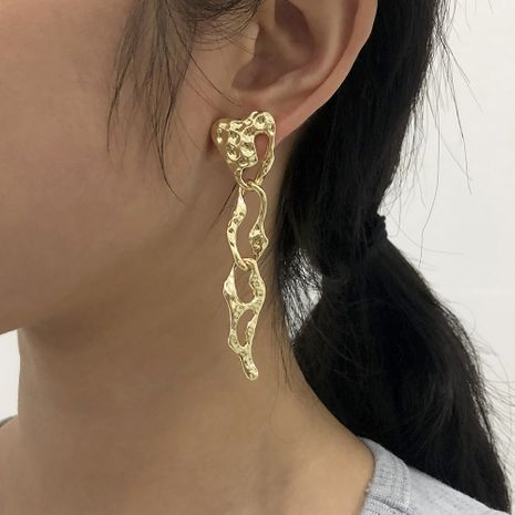 Fashion Irregular Creative Pattern Earrings NHMD283286's discount tags