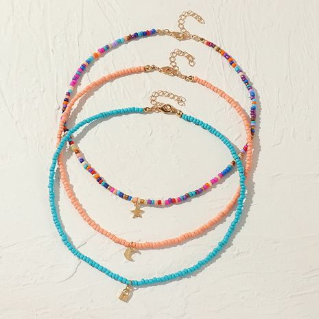 fashion  candy color rice bead necklace  NHNZ283318's discount tags