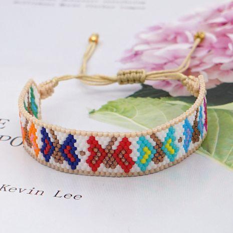 Bracelet papillon coloré tissage de perles bohème NHGW283334's discount tags