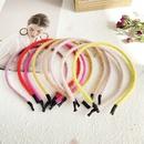 candy color plush hairband  NHPJ283366