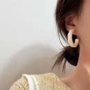 fashion Cshaped 925 retro earrings NHXI283394