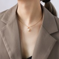 NHOK1268998-Golden-necklace-40+5cm