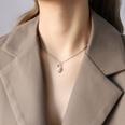 NHOK1268999-Steel-color-necklace-40+5cm