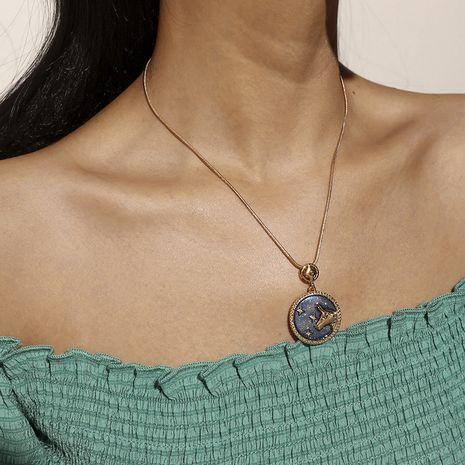 Collier de mode coréen simple taureau sauvage NHKQ283426's discount tags