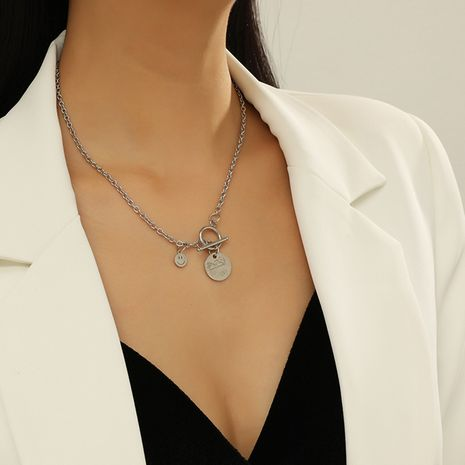 simple fashion trend  personality necklace NHKQ283445's discount tags