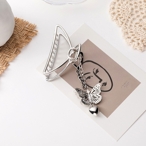 metal three-dimensional butterfly chain catch clip  NHMS283552's discount tags