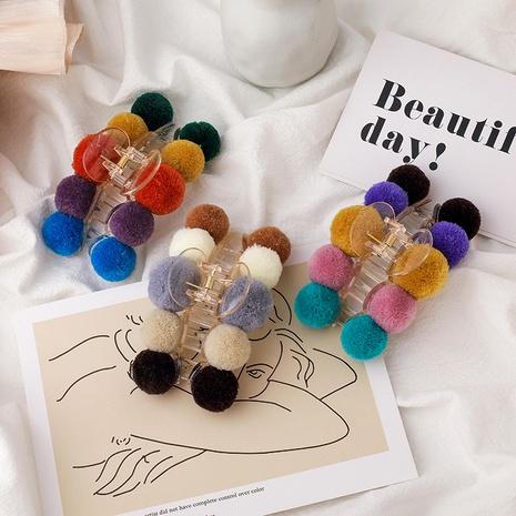 Color korean  hair clip  NHMS283568's discount tags