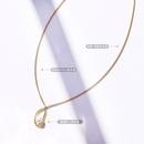 irregular ring pearl necklace NHOK283575