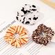 Korean fashion  leopard print  hair scrunchies  NHAU283649