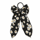 new  daisy retro  bow wild hair scrunchies  NHDM283693