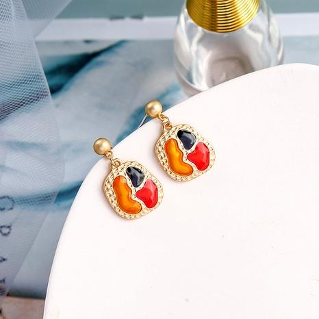irregular fashion retro earrings NHQD283720's discount tags